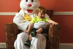 Scavenger Hunt and Easter Bunny